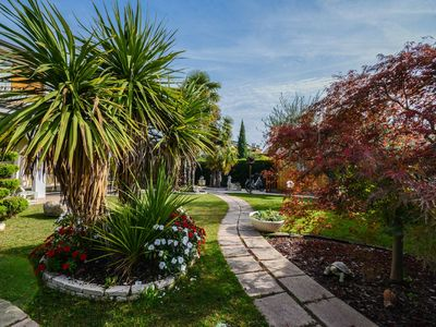 Photo for terraced house ground floor Cola di Lazise, pool
