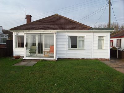 Photo for Wonderful Sea Views From This Three Bedroom Bungalow