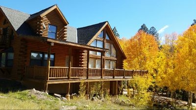 Photo for Quiet Angel Fire Mountian Home 5 minutes from town! Very spacious, sleeps 15