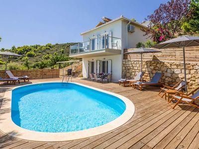 Photo for 2 bedroom Villa, sleeps 4 in Ai Giannis with Pool, Air Con and WiFi
