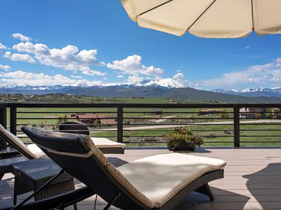 Photo for Luxury Mountain Home with Incredible Mountain Views, Great Location, Near Skiing