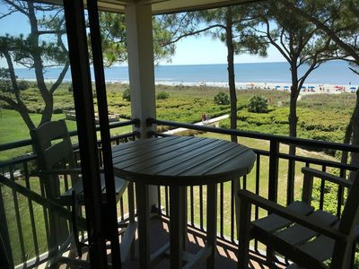 Photo for DIRECT OCEANFRONT with Million Dollar Views Top Floor/end unit - just remodeled!