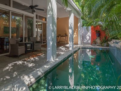 Photo for Casa Amor - 2 Blocks from Duval Street! Pool/WiFi/Privacy. Walk to Beach!