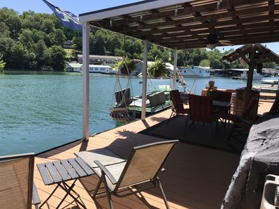 Photo for Floating Oasis for Relaxation. BYO...Boat. Wifi, Telephone, Covered Porch