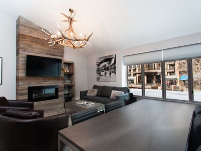 Photo for Heart of Vail - Completely renovated condo.  Best location in Vail Village.