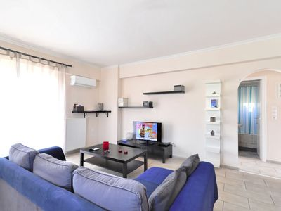 Photo for Brand new family apartment with Acropolis view, sleeps 5