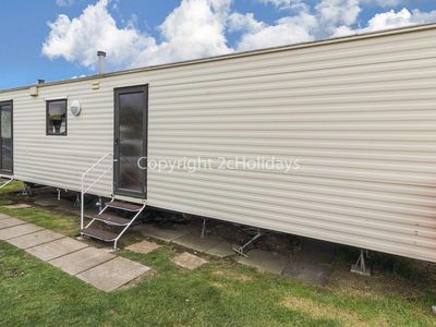 Photo for 8 berth caravan for hire at California Cliffs, Scratby, Norfolk ref 50001 D