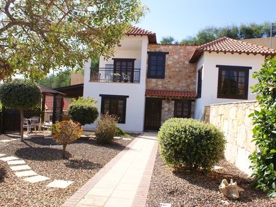 Photo for Villa Set In Landscaped Garden With Private Pool, Views Over Villages And Coast
