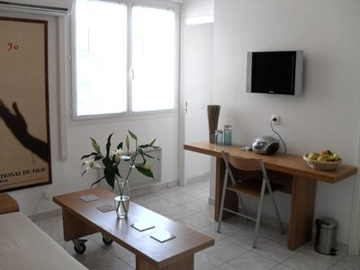 Photo for Sunny 1 Bedroom Apartment in Central Cannes. Nr Palais & beach