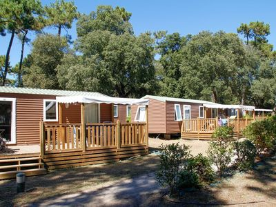 Photo for A mobile home for 6-8 persons on the island of Ile d'Oleron.