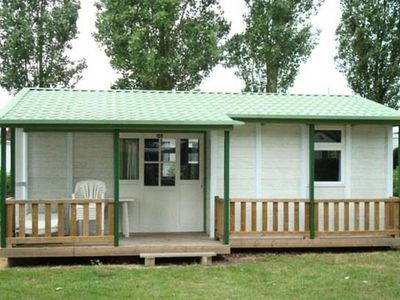 Photo for Camping Hermitage *** - Chalet Gitotel 4 Rooms 6 People