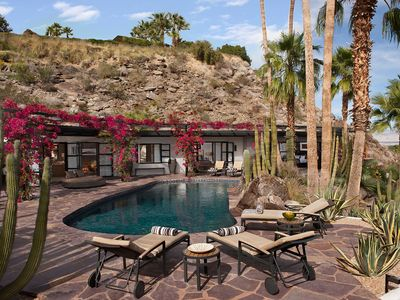 Photo for Desert Oasis With 360° Unobstructed Views Of Palm Springs And The Mountains