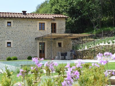 Photo for Beautiful Charming Restored Farmhouse with excellent facilities & infinity pool