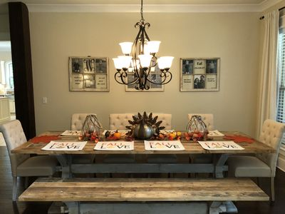 Dining Room Table-Seats 10-12