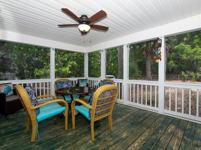 Photo for Set & Drift - Beautiful Resort Duplex; Screened Porch; Easy Beach Access