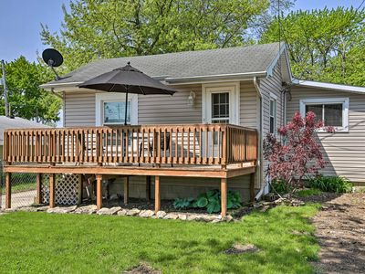 Photo for NEW! Port Clinton Home w/ Deck - ½ Block to Lake!