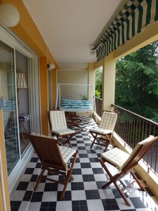 Photo for Air-conditioned apartment, quiet and close to the beach