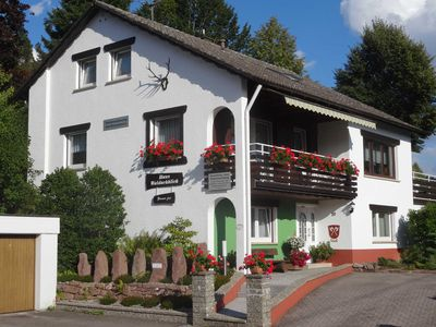 Photo for Double room with WC and shower - Pension Haus Waldachblick