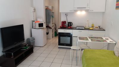 Photo for Comfortable studio in 10 minutes walk from the sea. In the Baumettes district.