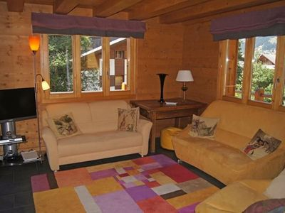 Photo for Apartment completely renovated which occupies two upper floors of a charming little chalet at 50m fr