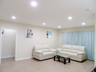 Photo for Minutes to 605,10,210 FWY,3 Bedrooms,7 beds,Entire Single House for Rent,1390sqf