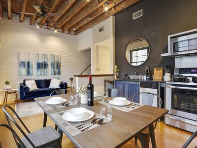 Photo for Stunning 2BR/2BA Industrial Apt in NOLA by Domio