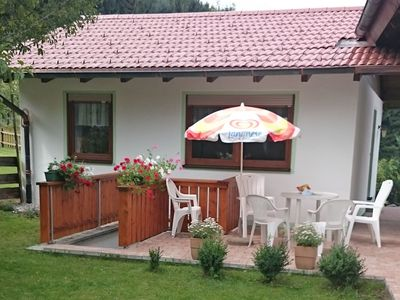 Photo for Child-friendly holiday home with private sauna and terrace in the Allgäu region
