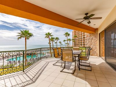 Photo for Sonoran Sea E-206 Windy Sea 2 BR Oceanfront Condo