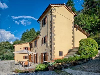Photo for Architect-converted tranquil Tuscan Villa