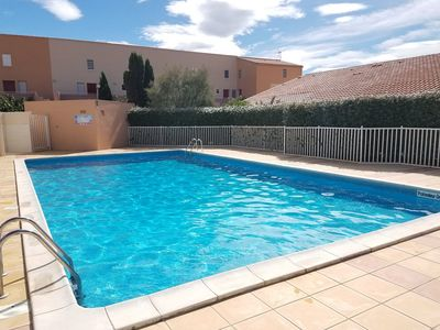 Photo for MS154 : GRUISSAN : 2-Room Villa with swimming pool