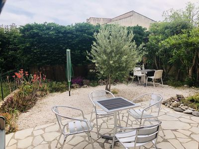 Photo for Nice T2 in residence with swimming pool, terrace, parking
