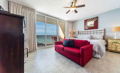 Photo for New Listing! Studio w/ a view! Ideal location, poolside dining, hot tub, & WiFi!