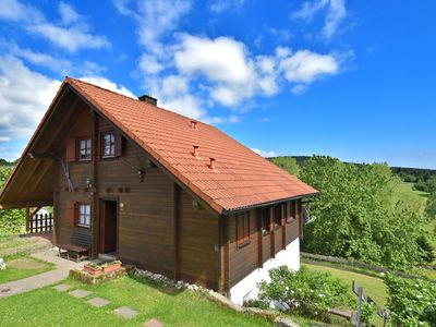 Photo for Spacious Chalet in Hinterrod Thuringia with Sauna