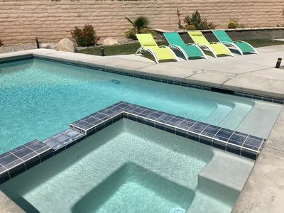 Photo for Gorgeous 3 Bedroom House with Pool, Spa & Great Views near Palm Springs