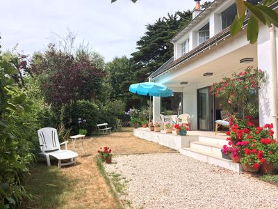 Photo for Ideally located large house next to the beach and the thalassotherapy