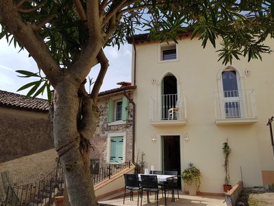Photo for Fairytale Cottage over vineyards and olive fields. 2-4 Persons.