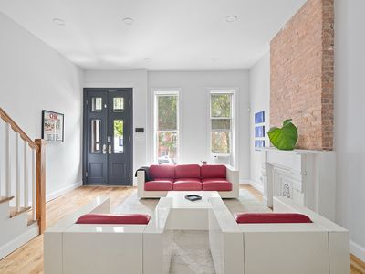 Photo for Modern Brownstone Duplex w Terrace.