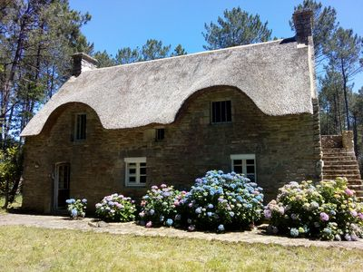 Photo for Seasonal rental of a Breton cottage in the heart of the forest