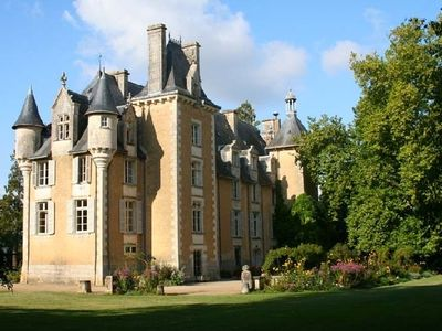 Photo for uxury chateau rental in Potou loire valley  france - Rent chateau in the Loire region of France, castle rental for Frenc