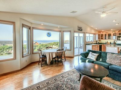 Photo for One Block From the Beach in Waldport, This Bright Well-Appointed Home includes Pool Access!