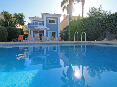 Photo for Modern villa with all facilities and mountain views.