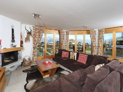 Photo for Luxury 3 bed ski chalet-apartment in Nendaz ,Switzerland.