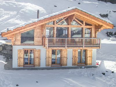 Photo for Chalet Gentiane - Gorgeous chalet with gorgeous views
