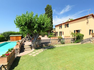Photo for Beautiful private villa with private pool, WIFI, TV, washing machine and parking