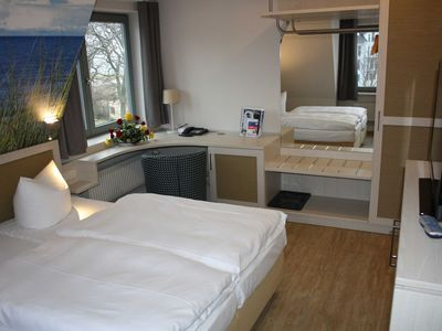 Photo for Double Room Landside 1 - Pension & Restaurant Haus am Meer GM 69650