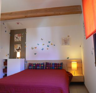 Photo for Gaïa, apartment on one level, quiet, train station area