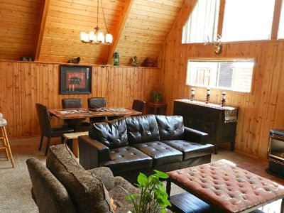 Photo for *Location! Location! *Ski In/ Out* Luxury Cabin-On the River*In Town*