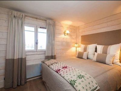 Photo for Ski-in ski-out apartment, Courchevel 1850, balcony