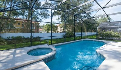Photo for SEASONS-(1075SB) - 5BR 4.5BA Home, 3 Master Suites, Pool & Spa, close Disney