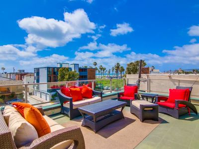 Photo for 4 Private Patios ☆ 2 Fireplaces ☆ Panoramic Views